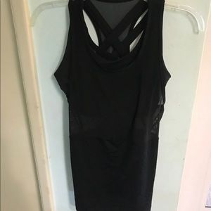 lululemon tank with built in bra size 4